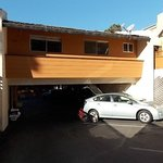 prius hatch hitting parking breezeway roof