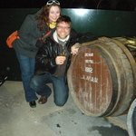Sampling a 31 year Lagavulin cask!