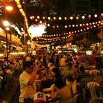 nearby night food market
