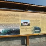 Sign board of the Rammed Earth Buildings