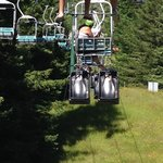 The luge chairlift