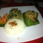 Delicious Fish in banan leaves