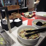 Salad bar, dinner