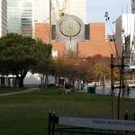 location next to SF MoMA and Yerba Buena Gardens