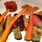 The Main Course: Roasted Lam Loin in Coffee Crust