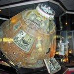 Apollo 13 capsule - yeah! The REAL Apollo 13.