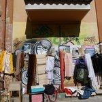 nearby street vendor