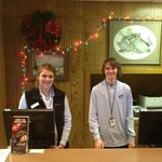 Silver Creek Reception - All very nice and helpful (that's Taylor on Right)