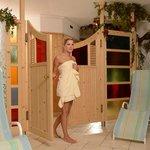 Entrata sauna e bagno turco