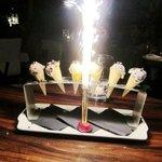 lovely birthday icecream cones and fireworks =)