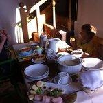 breakfast at Foluszovy Potok