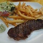 オージービーフのステーキ