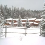 The Lodge in the winter