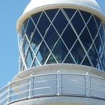 The 4 tonne multi-prismed lens of Cape Naturalise light