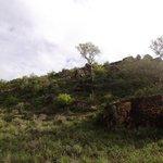 Lodge auf dem Berggipfel