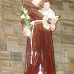 Statue inside Cathedral