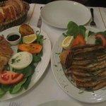 Calamari and anchovies