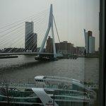 Uitzicht op de Erasmusbrug