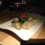 Il piatto del giorno (polpette di pesce)