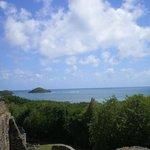 vue depuis les ruines du Château Dubuc