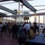 Terrazzo panoramico sul mare