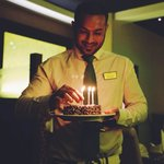 Meet Rumel, Head Waiter and 3rd generation purveyor of exquisite flavors and tastes from afar.