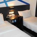 Room 202, beds