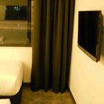 Room 202, view upon opening door