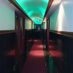 Exotic colours of our eight floor. Just ok hotel.