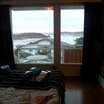 Utsikt från vårt rum