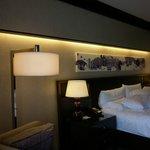 Bedroom in the Fairmont Premier Room