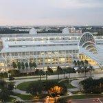 Vue sur le centre de convention d'Orlando