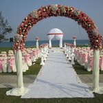 Wedding Place at the beach