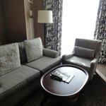 Sofas and furnishings