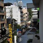 Vue du balcon - couloir