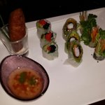 Re-created spring rolls! Delicious!