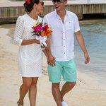 Wedding on the beach Aug 2013
