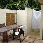 separation salle bain ch2 piscine villa 9