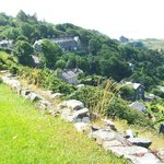 Views from the back of Harlech Castle