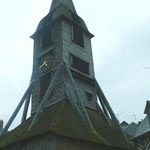 Saint Catherine's Church: Honfleur: Francia: il caratteristico campanile in quercia