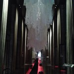 Reveillon - Decoração da entrada do hotel