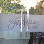 Jazzy James Country Hotel Front Door