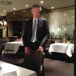 Herr Marak,der exzellente Restaurant-etc Manager