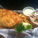 Fish and Chips-Delicious!