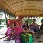 carabao ride with serenade as entertainment