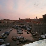 Dubrovnik Harbour in the evening