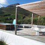 honeymoon suite private terrasse with jacuzzi