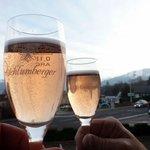 Happy Birthday on the balcony of the Almunsterhof!