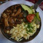 Rahmgeschnetzeltes mit Pilzen und Spätzle (TOP)