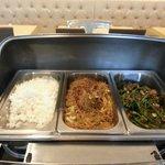 Breakfast buffet - Asian Section